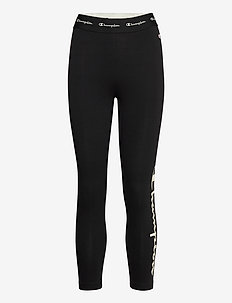 Crop Leggings - leggings - black beauty