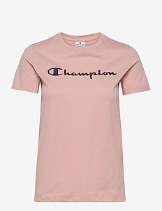 Crewneck T-Shirt - sportoberteile - misty rose