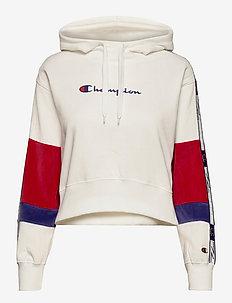 Hooded Sweatshirt - hettegensere - white