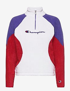 High Neck Top - sweatshirts - white