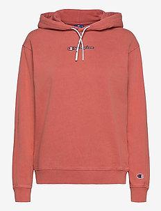 Hooded Sweatshirt - kapuzenpullover - dusty cedar