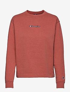 Long Sleeve T-Shirt - langermede topper - dusty cedar