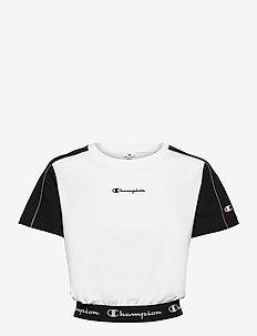 Crop Top - któtkie bluzki - white
