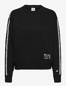 Crewneck Sweatshirt - uutuudet - black beauty