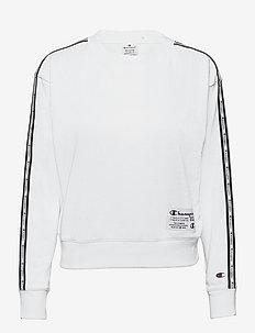 Crewneck Sweatshirt - uutuudet - white