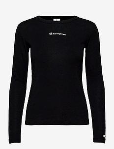 Crewneck T-Shirt - bluzki z długim rękawem - black beauty