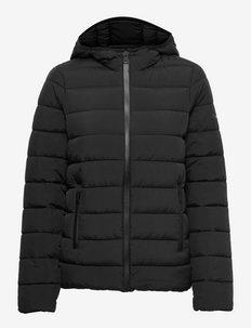 Hooded Polyfilled Jacket - veste sport - black beauty