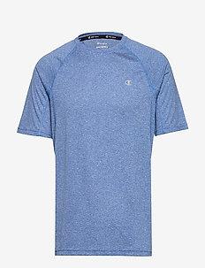 Crewneck T'Shirt - COBALT BLUE