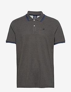 Polo - koszulki polo - gray melange dark tp (cco) a