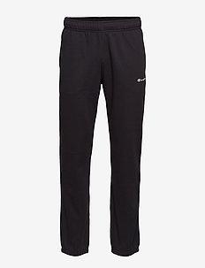 Elastic Cuff Pants - BLACK BEAUTY