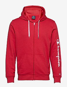 Hooded Full Zip Sweatshirt - AMERICAN BEAUTY