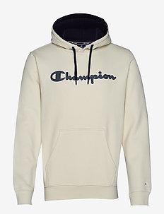Hooded Sweatshirt - WHITE ASPARAGUS