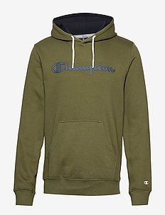 Hooded Sweatshirt - WINTER MOSS
