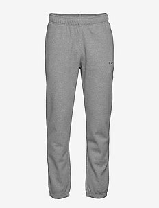 Elastic Cuff Pants - pantalons - gray melange light