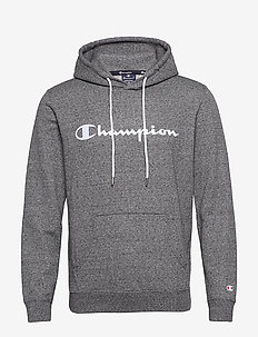 Hooded Sweatshirt - bluzy z kapturem - gray melange dark