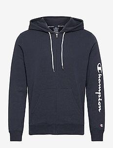 Hooded Full Zip Sweatshirt - perus-college-paitoja - sky captain