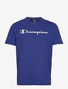 Crewneck T-Shirt - urheilutopit - mazarine blue