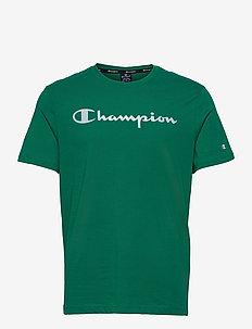 Crewneck T-Shirt - urheilutopit - ultramarine green