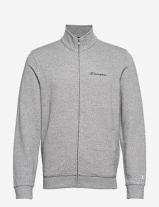 Full Zip Sweatshirt - perus-college-paitoja - graphite grey melange jaspè yarn dyed