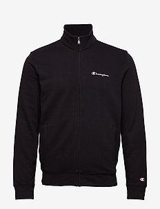 Full Zip Sweatshirt - basic sweatshirts - black beauty