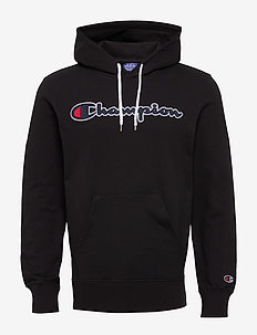 Hooded Sweatshirt - bluzy z kapturem - black beauty