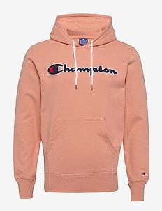 Hooded Sweatshirt - kapuzenpullover - coral pink