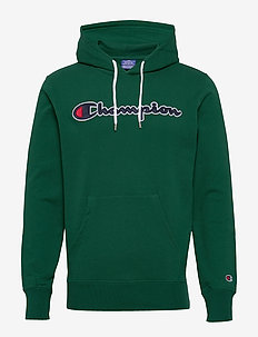 Hooded Sweatshirt - bluzy z kapturem - evergreen