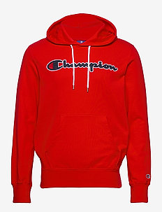Hooded Sweatshirt - kapuzenpullover - flame scarlet
