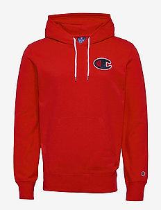 Hooded Sweatshirt - hoodies - flame scarlet