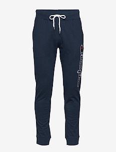Rib Cuff Pants - NAVY BLAZER