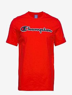 Crewneck T-Shirt - sportoberteile - flame scarlet