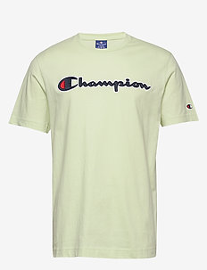 Crewneck T-Shirt - sports tops - seafoam green