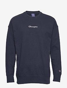 Crewneck Sweatshirt - bluzy i swetry - navy blazer