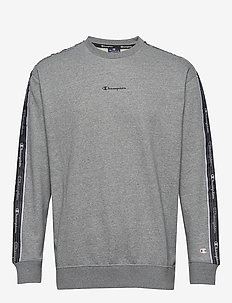 Crewneck Sweatshirt - basic-sweatshirts - graphite grey melange jasp