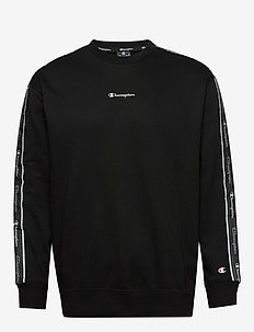 Crewneck Sweatshirt - basic sweatshirts - black beauty