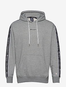 Hooded Sweatshirt - basic-sweatshirts - graphite grey melange jasp