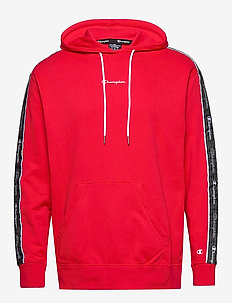 Hooded Sweatshirt - perus-college-paitoja - high risk red