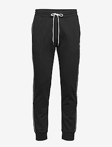 Rib Cuff Pants - treenihousut - black beauty