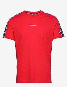 Crewneck T-Shirt - t-shirts - high risk red