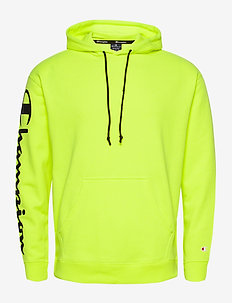 Hooded Sweatshirt - basic sweatshirts - safety yellow fluo tp (syff)