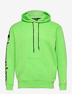 Hooded Sweatshirt - perus-college-paitoja - green gecko fluo