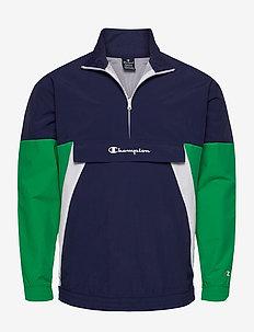 Half Zip Sweatshirt - anoraks - medieval blue a