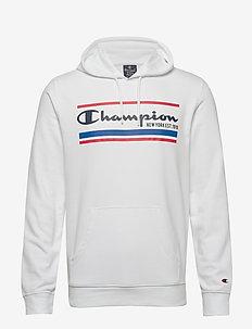 Hooded Sweatshirt - hupparit - white