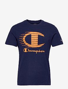 Crewneck T-Shirt - urheilutopit - medieval blue