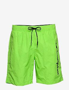 Beachshort - swim shorts - green flash