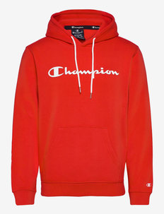 Hooded Sweatshirt - hættetrøjer - flame scarlet