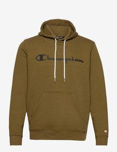 Hooded Sweatshirt - hoodies - military olive