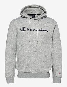 Hooded Sweatshirt - kapuzenpullover - new oxford grey melange