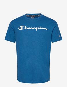 Crewneck T-Shirt - sportoberteile - baleine blue