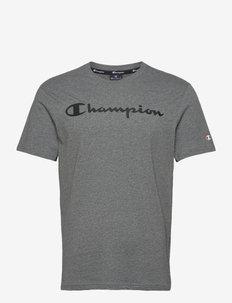Crewneck T-Shirt - sportoberteile - new dark graphite